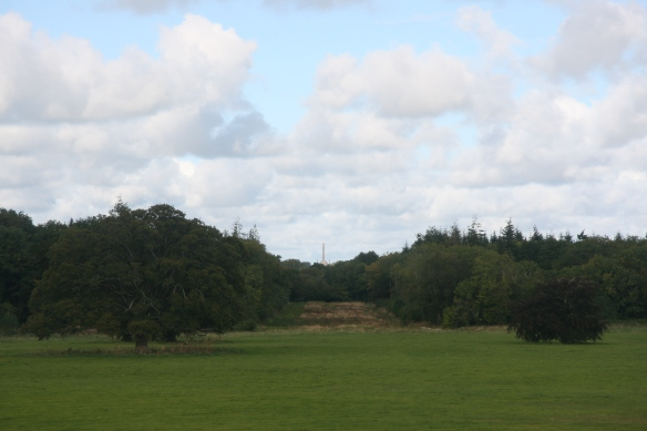 See? Two miles away (and no longer a part of the estate) is the Conolly Folly.