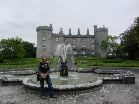 A grey old castle on a grey old day! That's Jill and this is her photo.