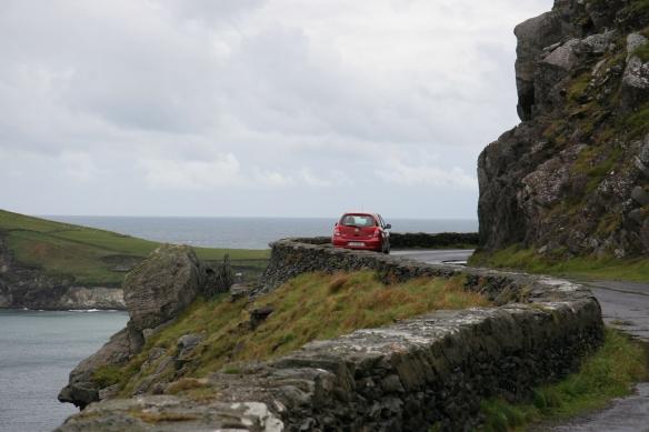 Approaching Dunmore Head.