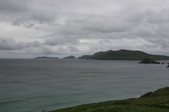 You get a good view of the Blasket Islands from this point.