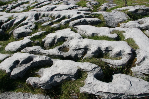 The Burren. Designed by glaciers.