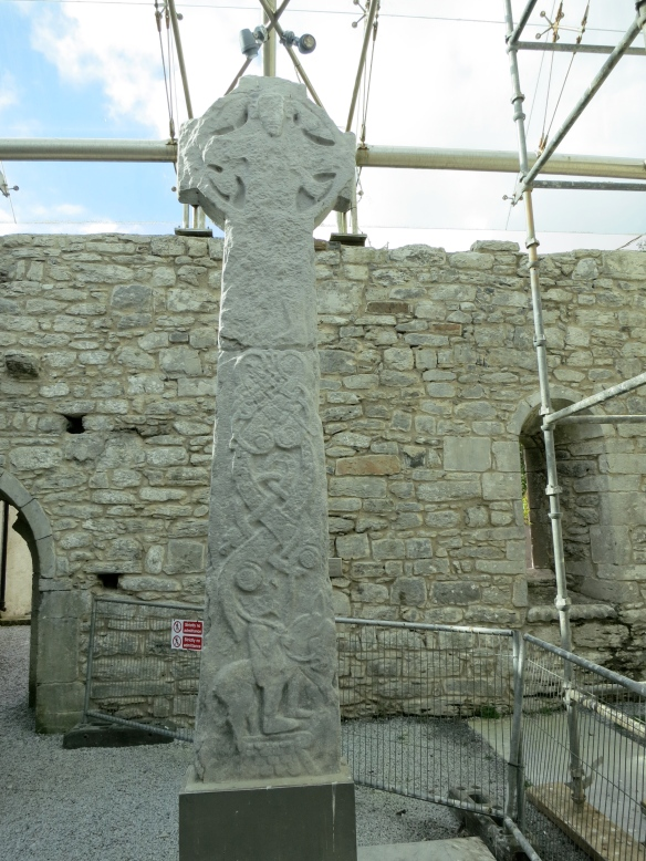 The reverse of the Doorty cross, showing Christ. (Margaret's photo.)