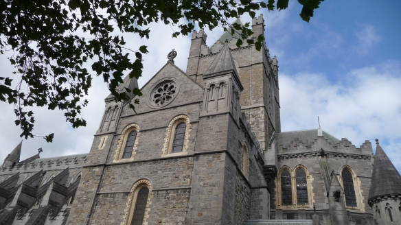 This is more interesting. The south transept of Christ Church Cathedral, Dublin.