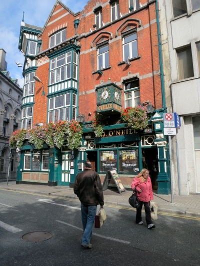 O'Neill's on Suffolk St. (Margaret's photo.)