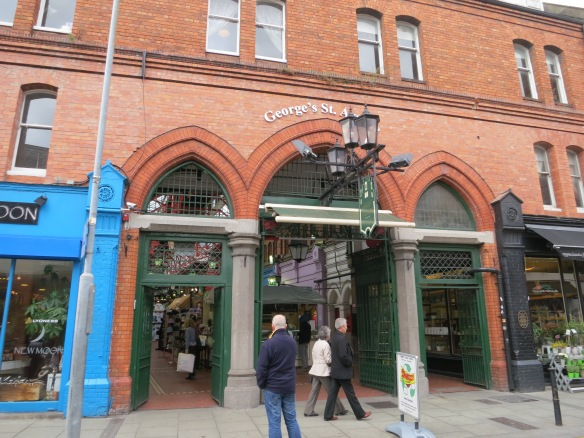 George's Street Arcade, off Dury St. (Margaret's photo.)