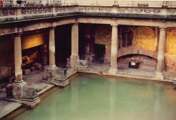 Another view of the Great Bath. This was taken on film, and I wasn't carrying zoom lenses with me, as one had to do thirteen years ago.