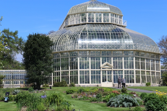 The Great Palm House, built in 1884.