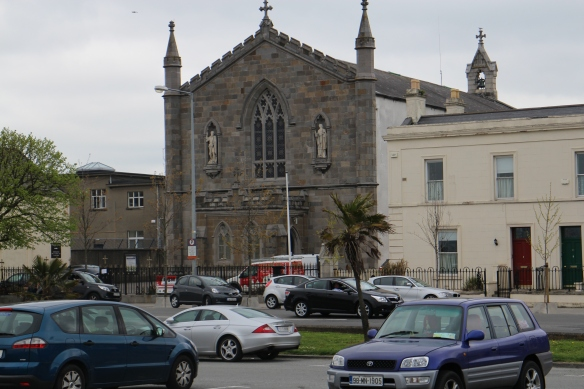 St. John's Church, Clontarf, from across the street. It's lovely, really.