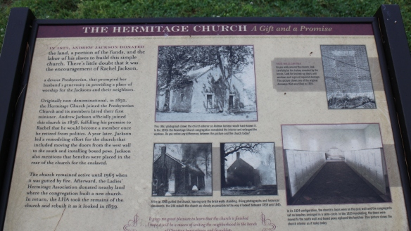 Information from the site at the Hermitage Church. Don't forget to click (twice) to enlarge and zoom.