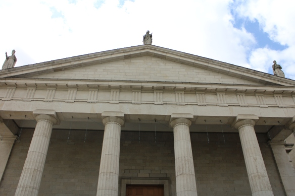 St. Mary's Pro-Cathedral, Dublin. Definitely Greek Revival out here.