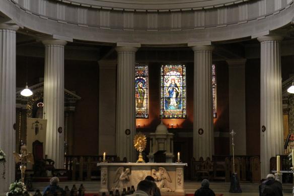 A closer look at the altar.