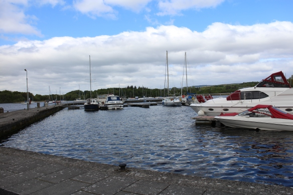 The harbor at Mountshannon.