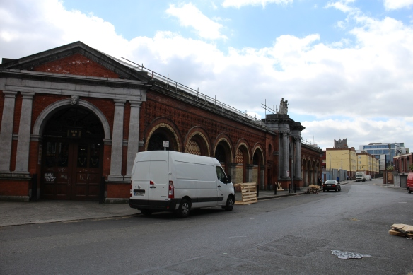 The Dublin Corporation Fruit and Vegetable Market.