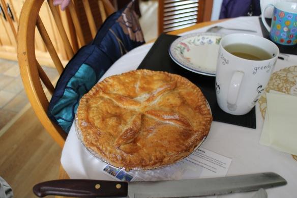Apple tart—gorgeous!