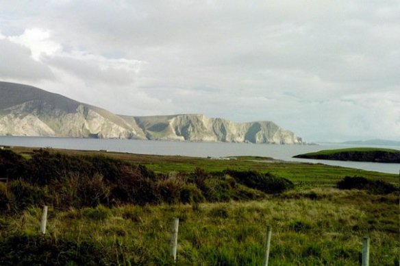 A view from Achill Island, Co. Mayo