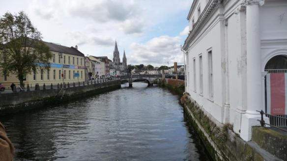 The River Lee, In Cork city.