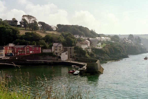 Along Glandore Harbour, 2003.
