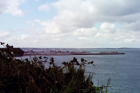 The marina at Howth, 2003.