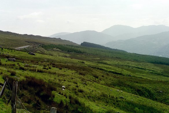 And wilder. We were entering the Caha Mountains.