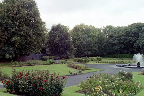 The grounds are beautiful too. Kilkenny Castle, 2003.