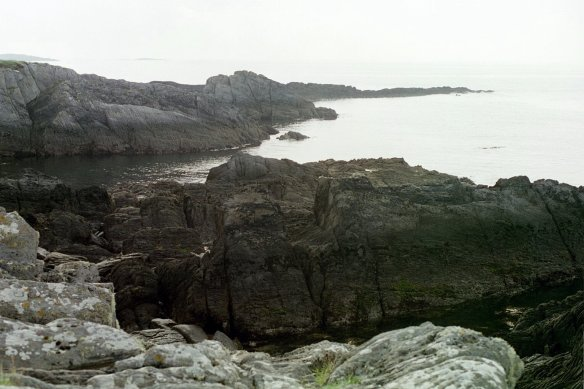 The bay at Toormore, Ireland, 2003.
