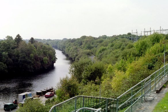 A view of the Shannon from Ardnacrusha.