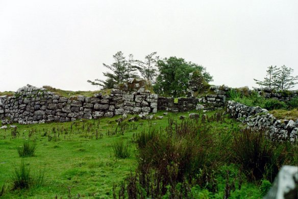 It doesn't look like much now, Cahermacnaughten, 2003. But it was very important.