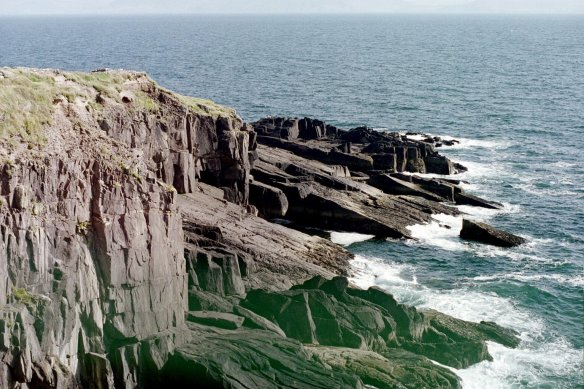 Of course, they only had to defend three sides—they had the sea at their backs. Dunbeg, 2003.