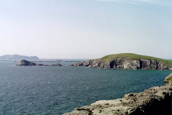 This is Dunmore Head, Dingle Peninsula, 2003.