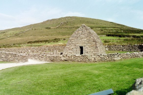 The Gallarus Oratory, Dingle Peninsula, 2003.