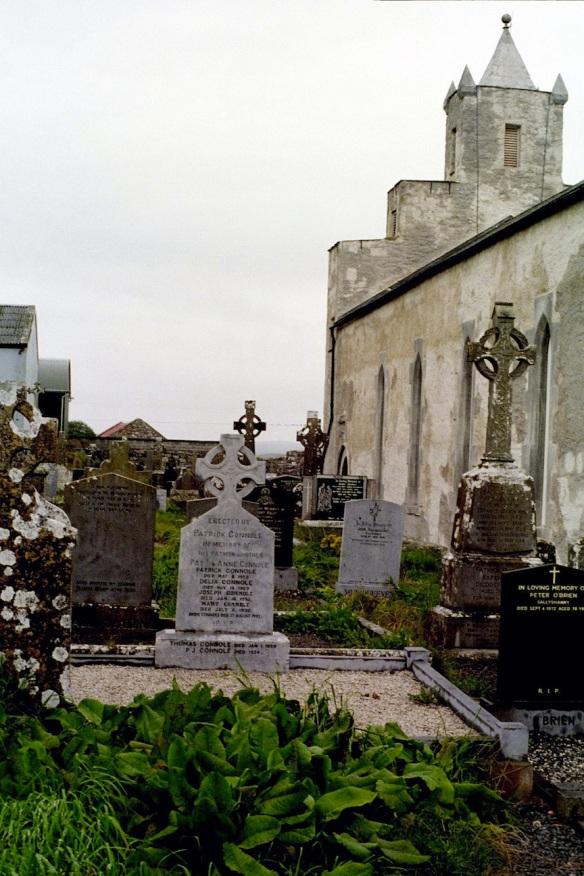 Kilfenora Cathedral churchyard, 2003.