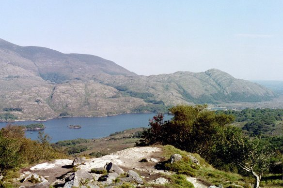 Upper Lake, the smallest of the Lakes of Killarney.