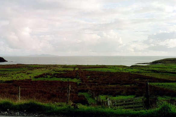 The Achill Island countryside.