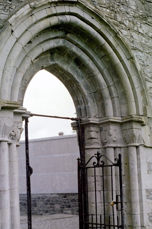Another arched doorway at cong Abbey, 2003.