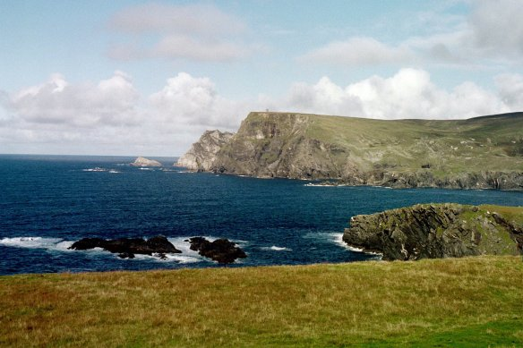 A view of the sea from Glencolmcille, 2003.