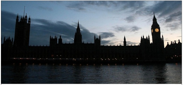 The Houses of Parliament and Big Ben. © Daily Mail.
