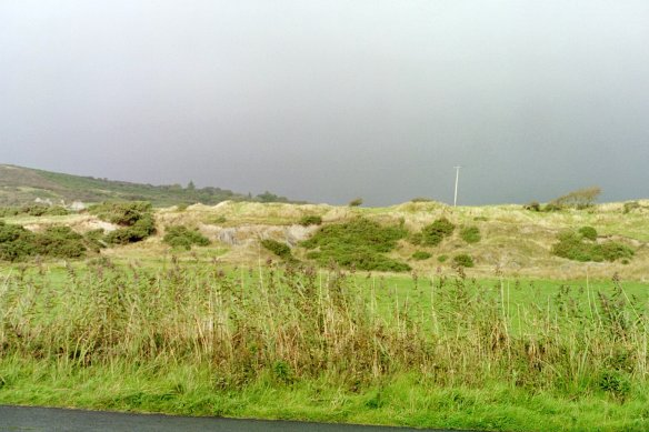 On the road to Malin Head, 2003.