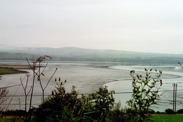 Taken outside Letterkenny on the way to Derry. This is Lough Swilly—really a sea inlet.