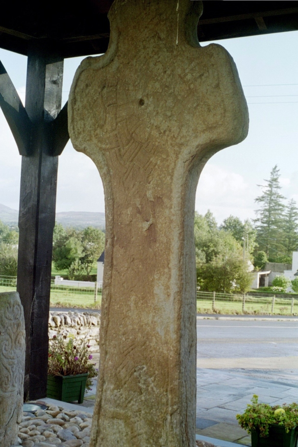 Carndonagh Cross, west face.