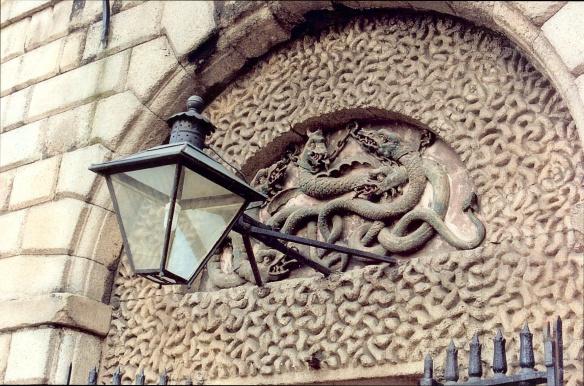 Really, it's frightening. Kilmainham Gaol, 2003.