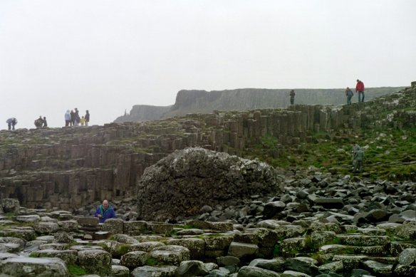 Pretty astonishing! Giant's Causeway, 2003.