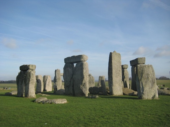Stonehenge on 27 January 2008. Image obtained from Wikipedia.