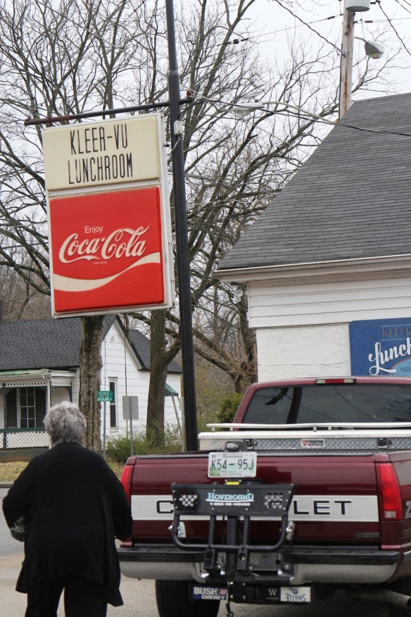 And then we went down the street a few blocks to the Kleer-Vu Lunchroom, another iconic Murfreesboro establishment.
