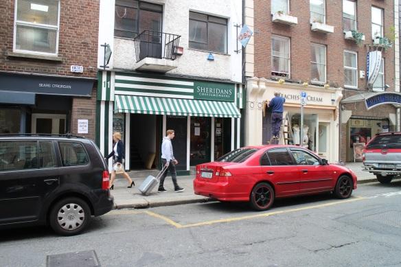 Sheridan's Cheesemongers, Anne Street, Dublin.