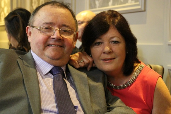 This is William (Gerry's older brother) and his wife Gwen. She's gorgeous. They have four children: Neil, Eoin, Clare, and Orla.