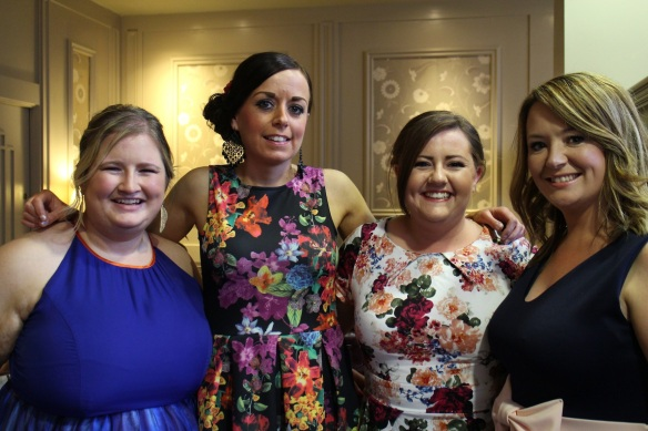 Maureen, Tracy, Clare, and Orla.