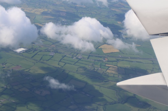 That said, one of the nice things about flying is the view from above. This last view of Ireland always makes me a bit melancholy, though.