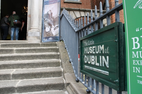C'mon in to the Little Museum of Dublin!
