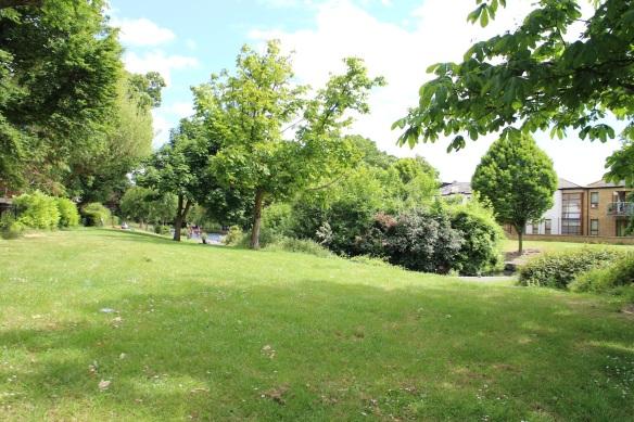 Stepping into Ranelagh Gardens.