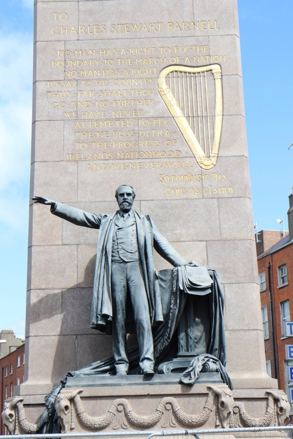 "Charles Stewart Parnell: No man has a right to fix the boundary to the march of a nation. No man has a right to say to his country: ""Thus far shalt thou go and no further""; and we have never attempted to fix the ne plus ultra to the progress of Ireland's nationhood and we never shall. (Cork address, 1885)"